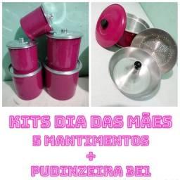 Título do anúncio: KITS DIA DAS MÃES ( 5 MANTIMENTOS + PUDINZEIRA 3E1 )