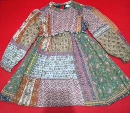 Vestido infantil Zara Kids