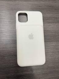 Capa carregadora iPhone 11Pro Max branca