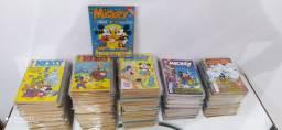 Gibis Mickey coleção editora abril 175 revistas em quadrinhos