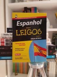 """""""Espanhol Para Leigos"""" de de Suzana Wald com CD em Excelente Estado"""