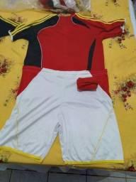 Padrão de camisa de time de futebol