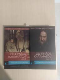 Livro: Os irmãos Karamázov - Volumes 1 e 2