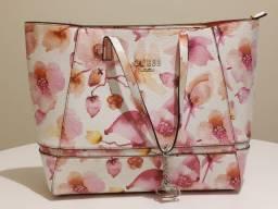 Bolsa Guess Rosa Flores