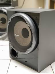 """Subwoofer Ativo Sony 10"""" 165RMS"""