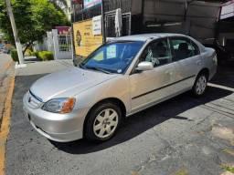 Civic LX 2002 Automático Gasolina 2° Dono