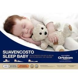 Travesseiro suave anti-refluxo infantil Ortobom