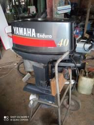 Motor de popa 40 Yamaha partida eletrica