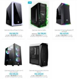 Gabinete Gamer para Montar Seu PC dos Sonhos - Apenas o Gabinete!