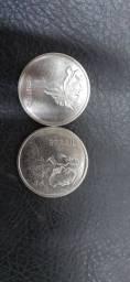 1 cruzeiro - serie centenário - 1872 a 1972 - 100 moedas