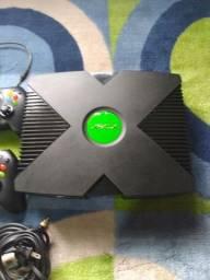 Xbox clássico 2 controles 27 jogos