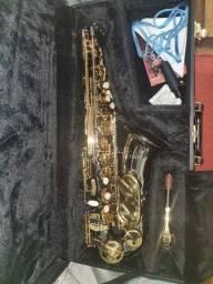 Saxofone Sax Alto Eagle Sa500 bg