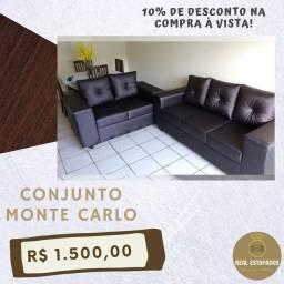 CONJUNTO DE SOFÁ MONTE CARLO