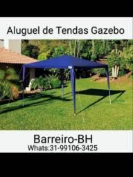 Tendas Gazebo (Somente Aluguel)