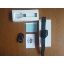 Smartwatch P8 Plus - relógio inteligente à prova d'água - NOVO