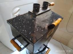 Churrasqueira a bafo Globo - Gás ou Carvão