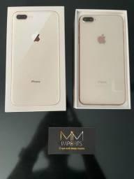 iPhone 8 Plus 64GB, Rose Gold + Caixa e acessórios