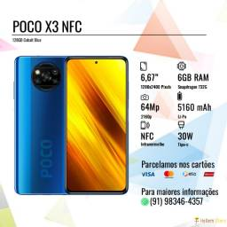 Poco X3 NFC 128GB Cobalt Blue (Até 10x sem juros no cartão)