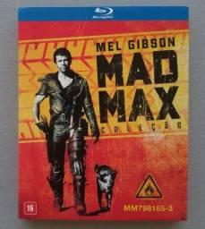 Blu-ray Coleção Mad Max (Trilogia/3 Discos) Dublado/Original