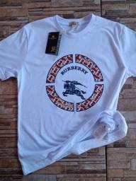 Camiseta masculina Burberry 30.1 100% algodão