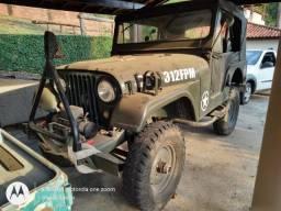 Jipe CJ5 1960 Militar 6cc 4x4