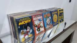 Gibis temáticos Disney coleção pato Donald tio patinhas Mickey Zé Carioca