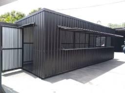 Container e pergolados de metal - fabricação