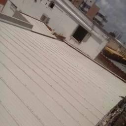 Telhados e reforma tiramos Goteira retelhamento capote rufo