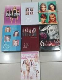 Box com coleção completa da série Sex and the City