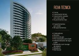 Título do anúncio: Apartamento 3 quartos 1 suite área e quarto de serviço, você ganha varanda gourmet. 2 vgs
