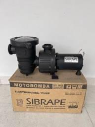 Motobomba Piscina 1/3 Cv Sibrape Motor Weg 110/220v