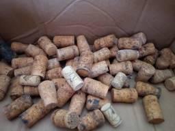 200 rolhas de cortiça vinho e champanhe usadas