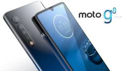 Motorola G8 Plus - 64GB - Azul Safira - 1 ano garantia - Lacrado