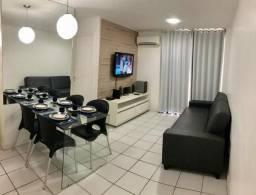 Apartamento Beira Mar de Pajuçara - Piscina, Sauna, Academia, Wi-Fi