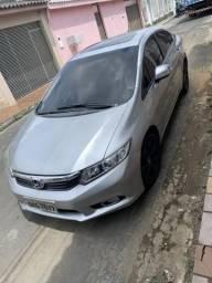 Honda Civic com teto solar segundo dono - 2012