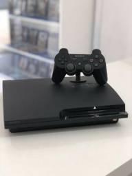 PS3 Slim Semi novo - Aceitamos cartão
