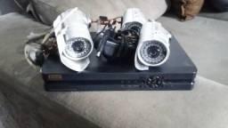 Dvr ecotronic com 4 câmeras