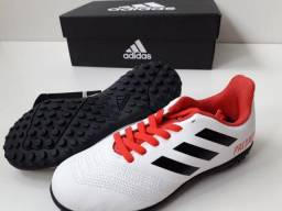 Chuteira Nova Adidas Predator Infantil Society