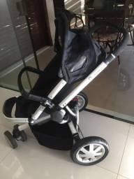 Vendo Carrinho de bebê Quinny Buzz + bebê conforto Maxi Cosi + Base carro + Moisés