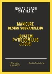 Vaga para manicure Pátio Dom Luís - Informações da Vaga na descrição anúncio