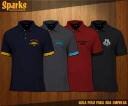 Camiseta Gola Polo para sua Empresa - Valparaíso e Região