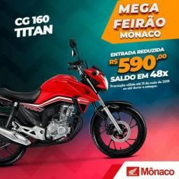 Cg titan 160 ex - 2019