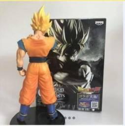 Dragon Ball Z Goku Super Saiyan Anime Figura Coleção 23cm