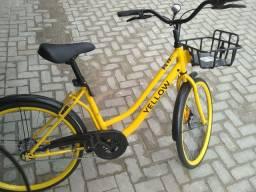 Vendo bike yellow com nota bike nova sem uso comprada direto da Caloi