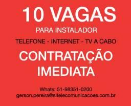 Vaga em Telecom