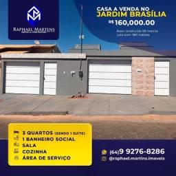 Casa no setor Jardim Brasilia em Caldas Novas - GO