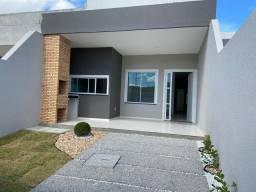 Casa nova 3 quartos, 2 banheiros, garagem, sala, cozinha e quintal
