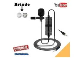 Microfone Andowl lapela Q955S Yotuber