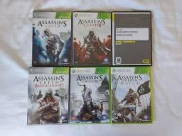 Jogos Xbox 360 - Assassin's Creed - Pra vender logo