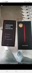 Samsung Note 10 Lite Cor vermelho,  2 meses de uso por iphone 8plus